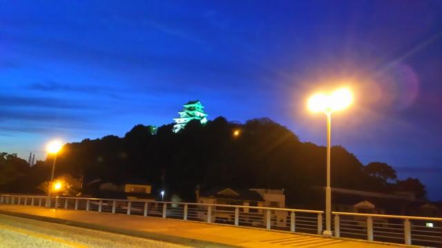 唐津城・夜景