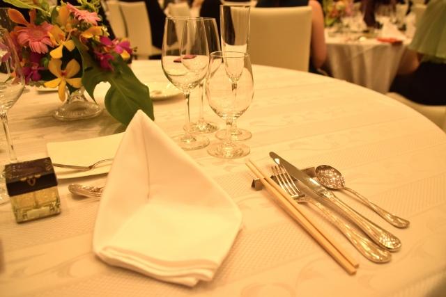 結婚式テーブルマナー
