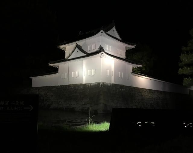 二条城・夜景