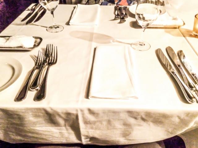 テーブルマナー洋食編