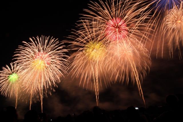 新潟・長岡の花火大会は競技大会でなく、慰霊祭的な花火大会です。