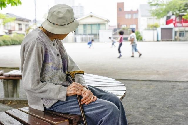 高齢者が増えている現状!